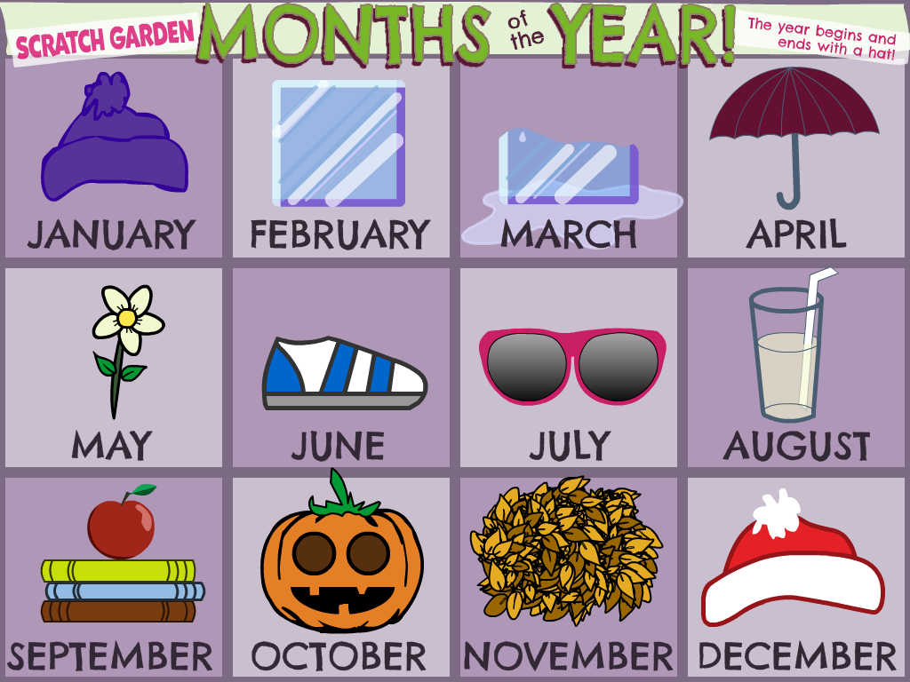 The Months of the Year Guide