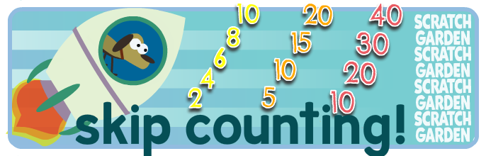 How to count by 2s, 5s & 10s