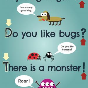 Scratch Garden Sentences Poster