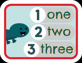 Spelling the Numbers - Scratch Garden