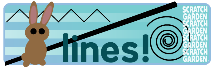 Learn About Lines - Scratch Garden