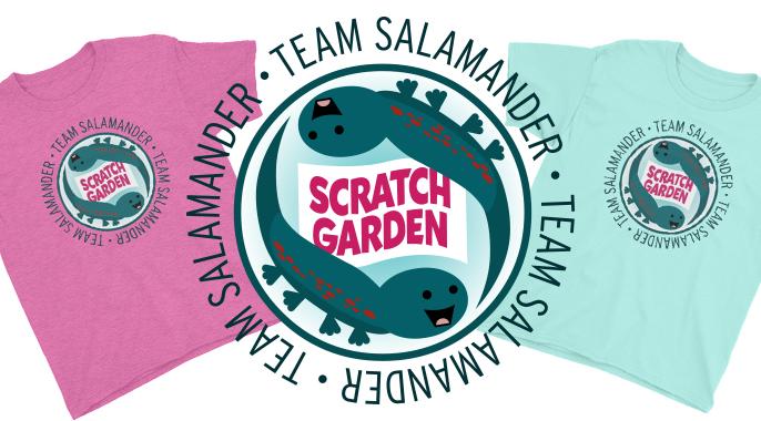 Scratch Garden Team Salamander Logo!