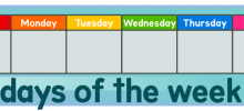 Learning the Days of the Week!