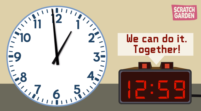 How to Tell Time. We can do it together!