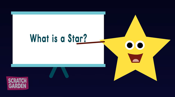 A star explaining a star!