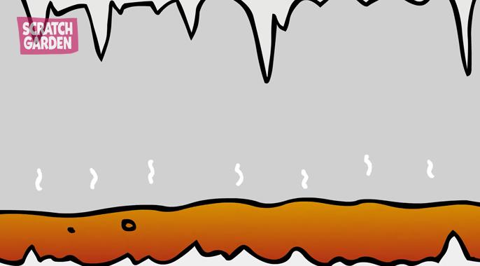 magma under the ground
